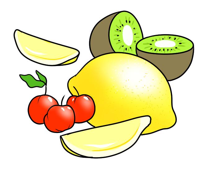 ビタミンを含んだ食べ物